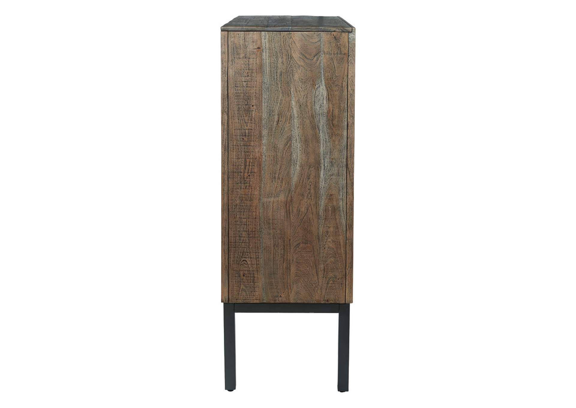 Premridge Antique Gray Bar Cabinet,Signature Design By Ashley