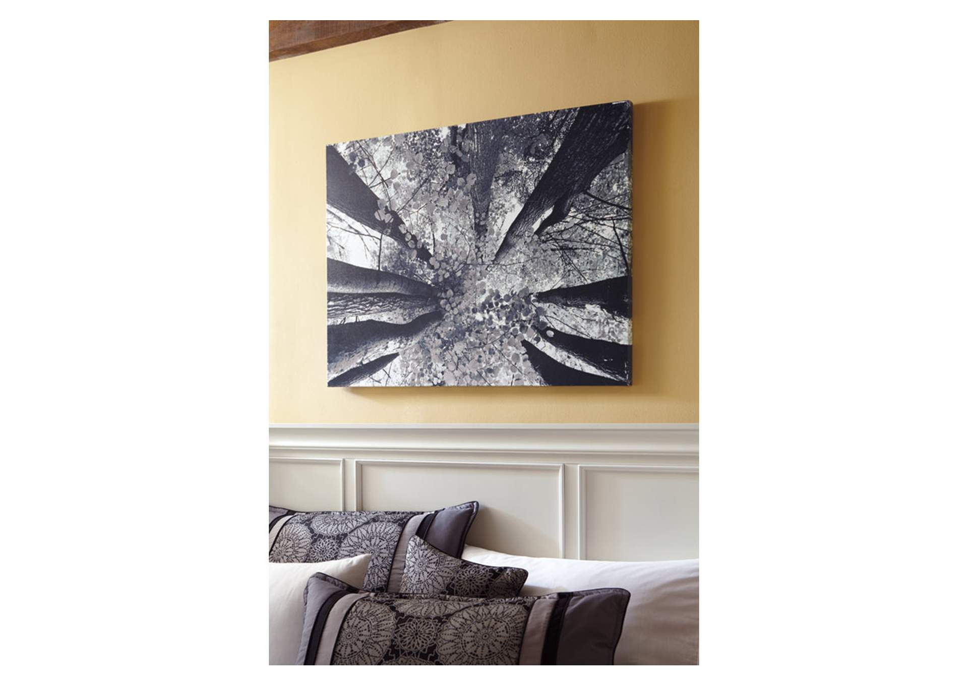 Black & White Ananya Wall Art,Signature Design By Ashley
