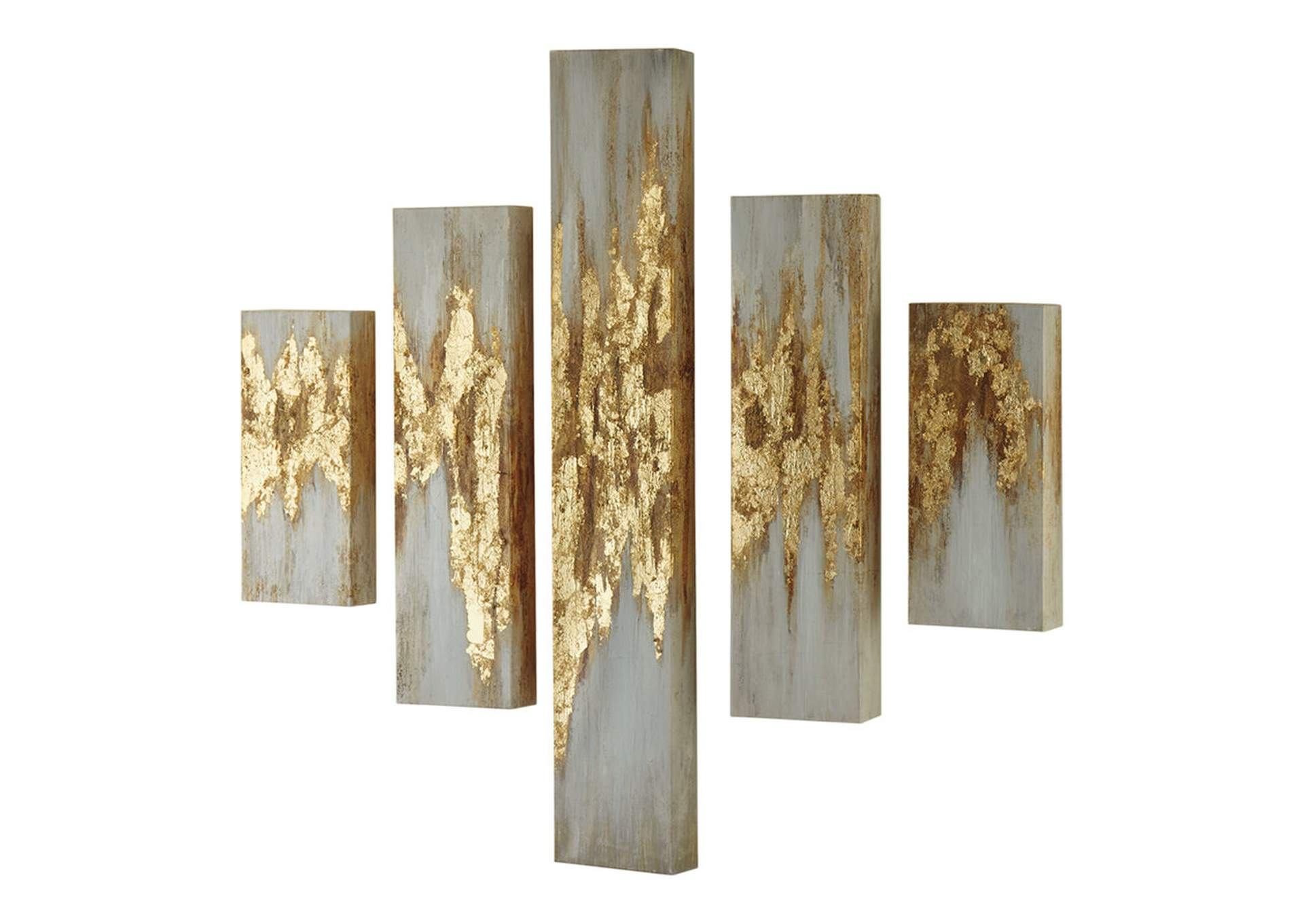 Beula Multi Wall Art Set (Set of 5),Signature Design By Ashley