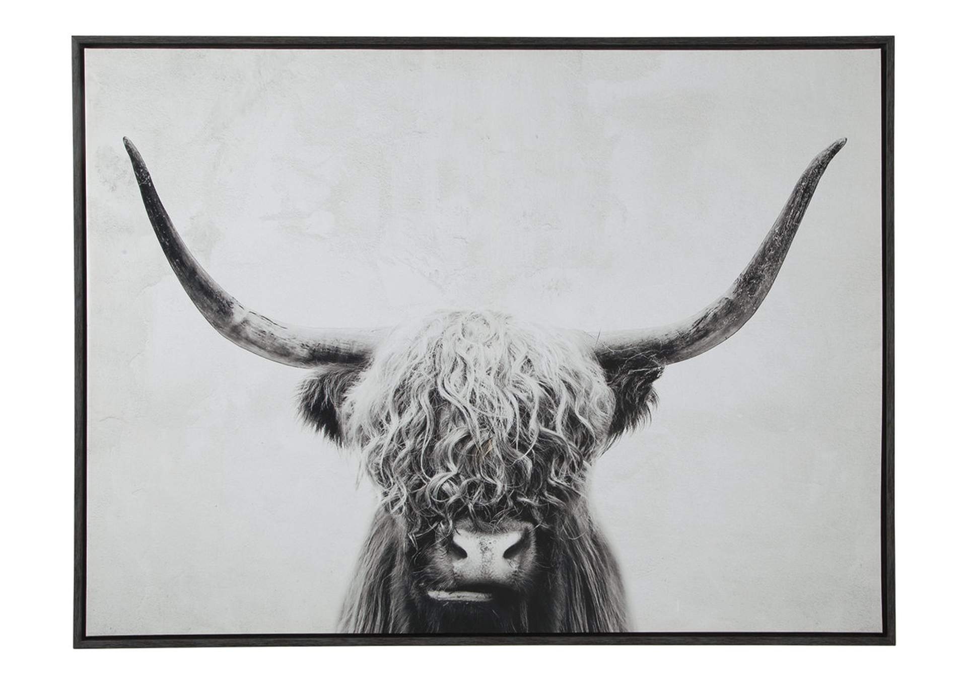 Pancho Black/White Wall Art,Direct To Consumer Express