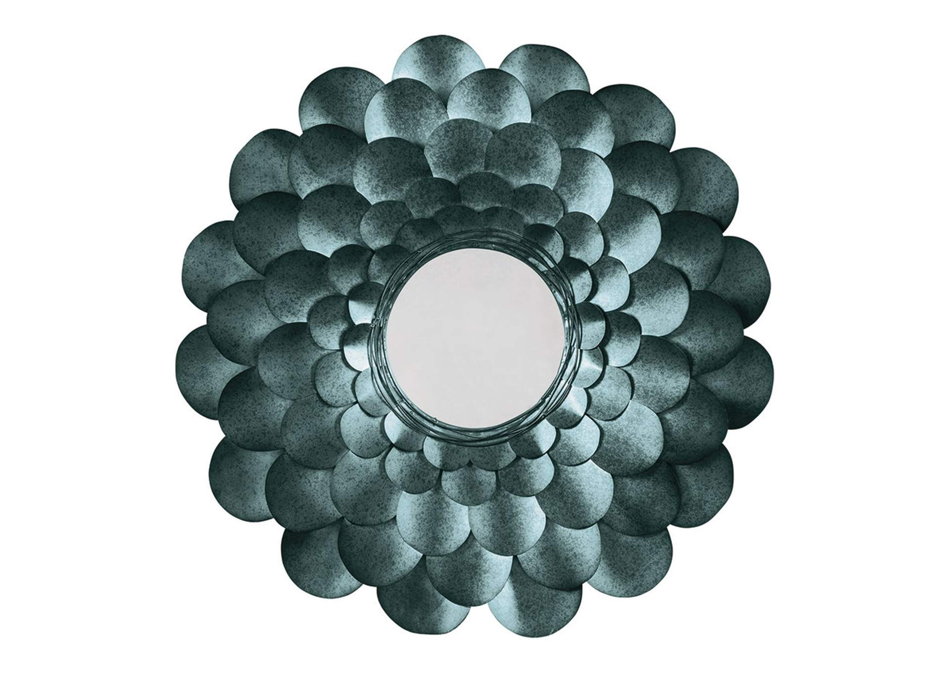 Deunoro Blue Accent Mirror,Direct To Consumer Express