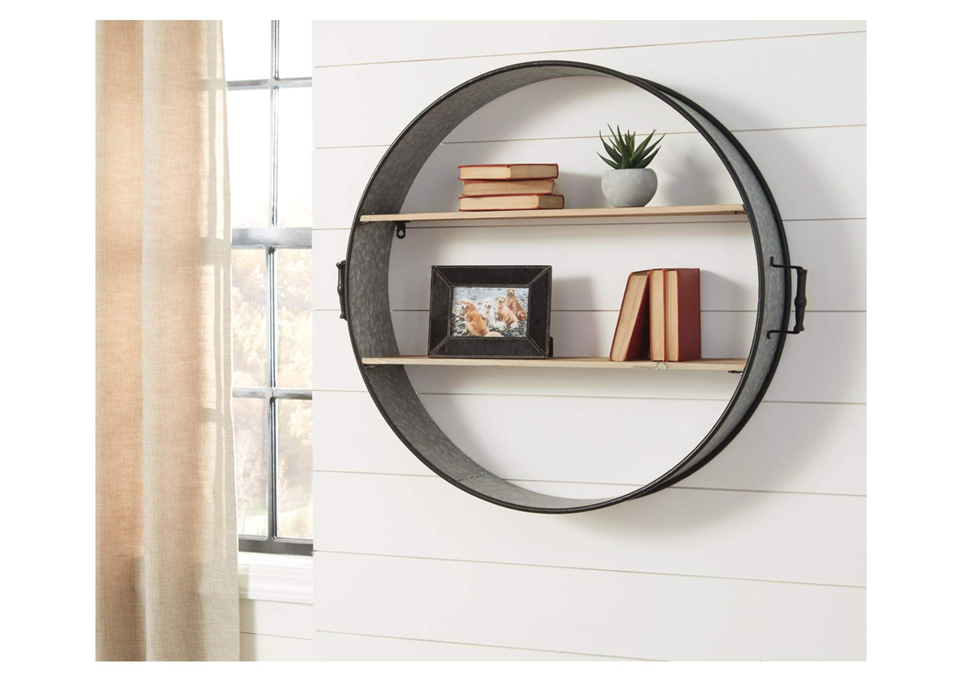 Annabelle Gold/Silver Finish Wall Shelf,Direct To Consumer Express