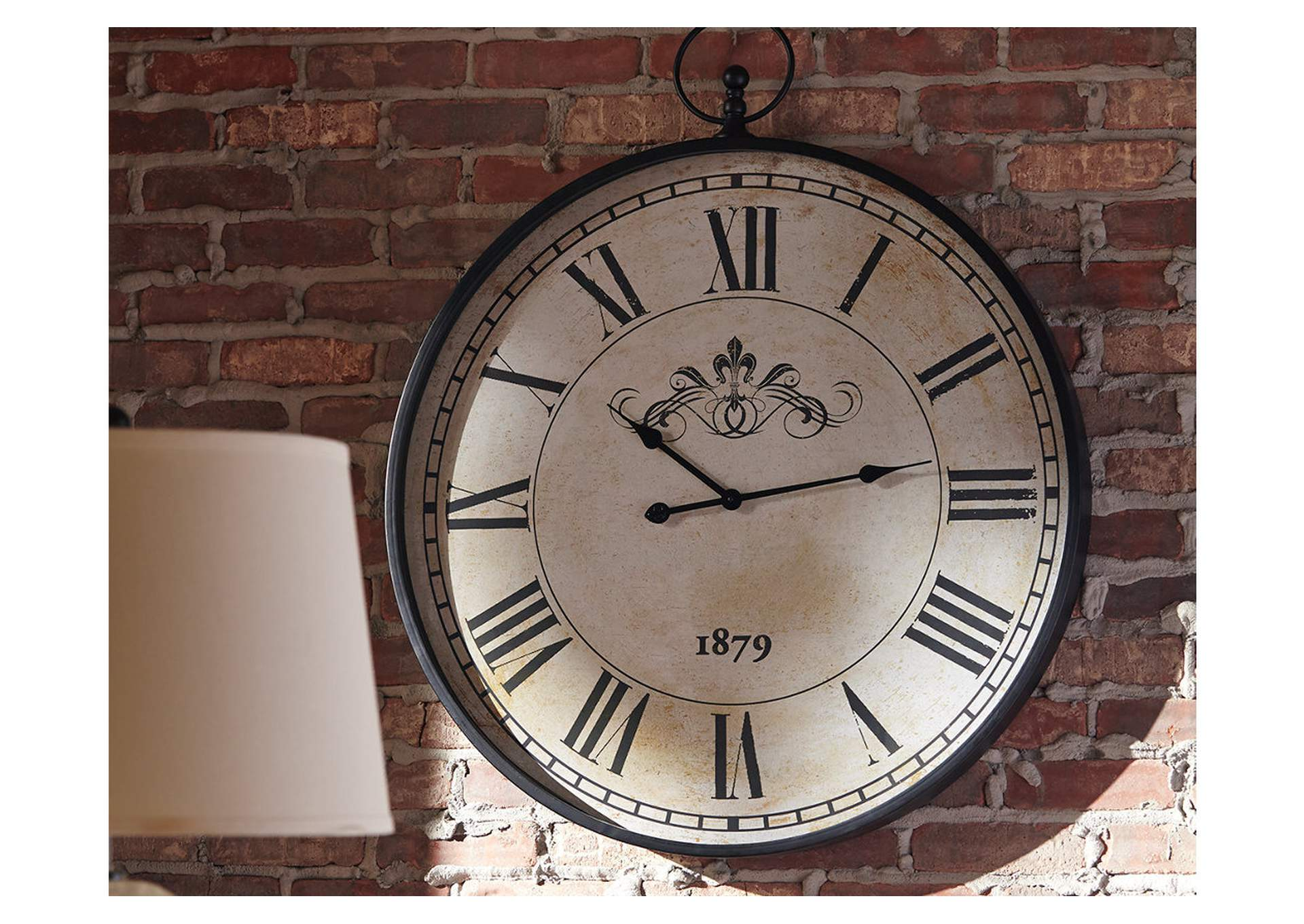 Augustina Antique Black Wall Clock,Direct To Consumer Express