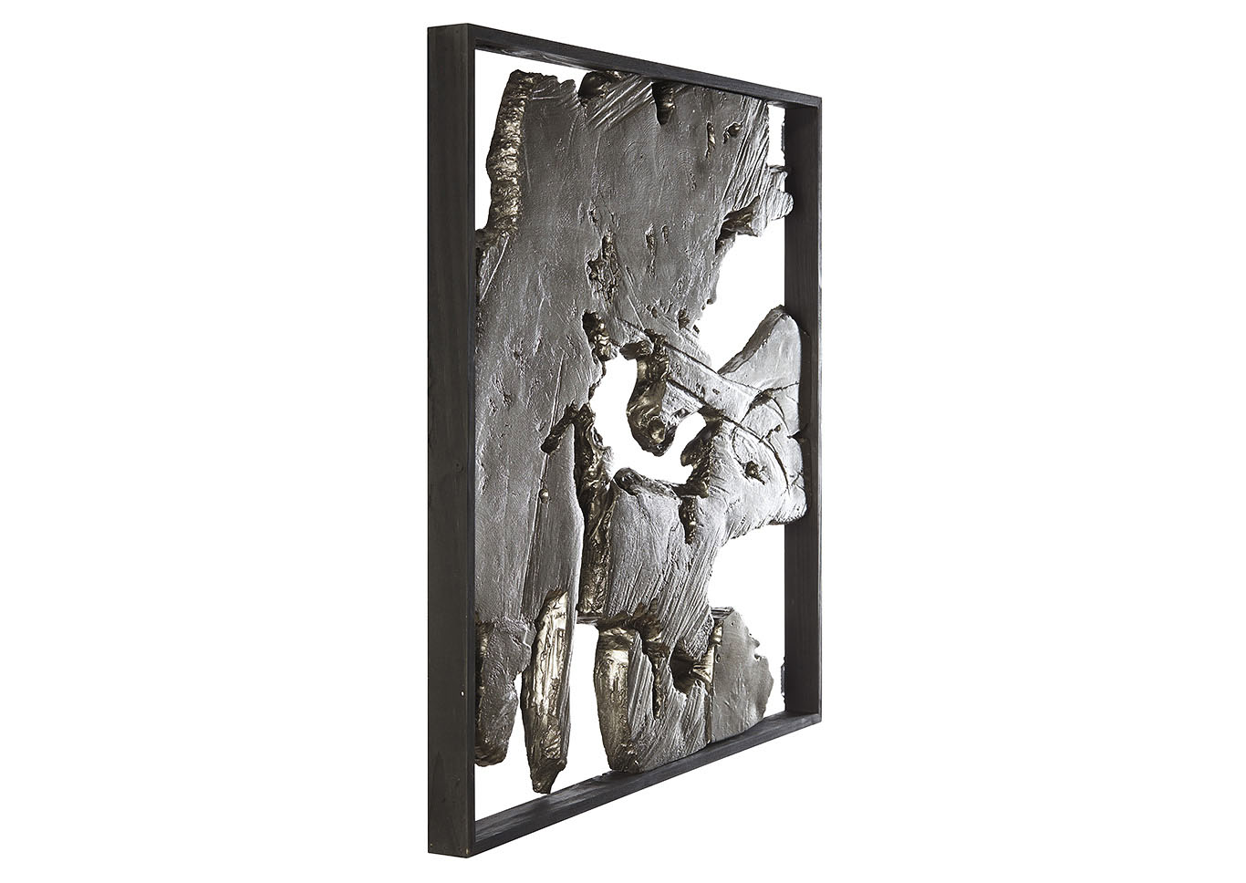 Fabiana Black/Silver Finish Wall Decor,Signature Design By Ashley
