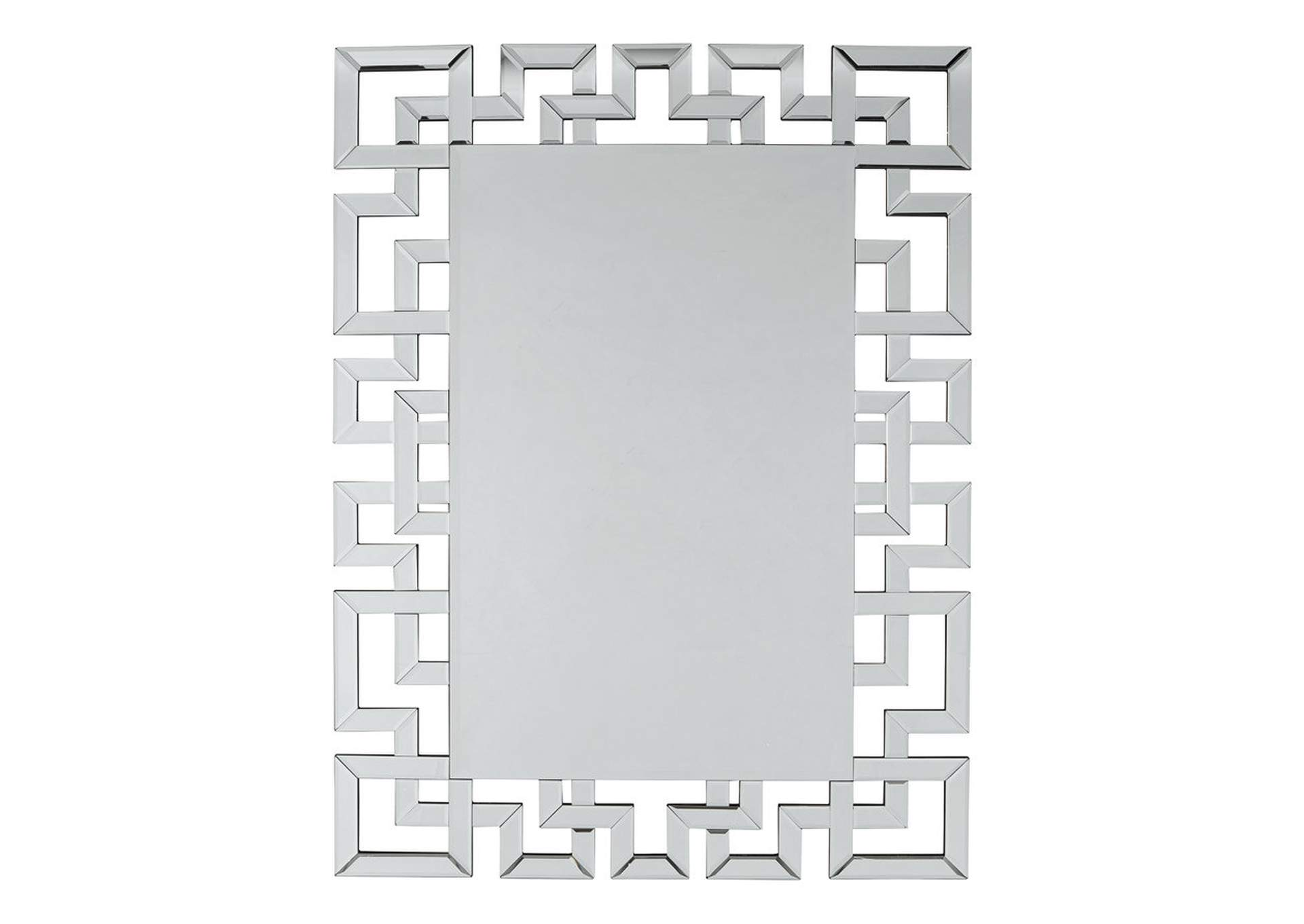 Jasna White Accent Mirror,Signature Design By Ashley
