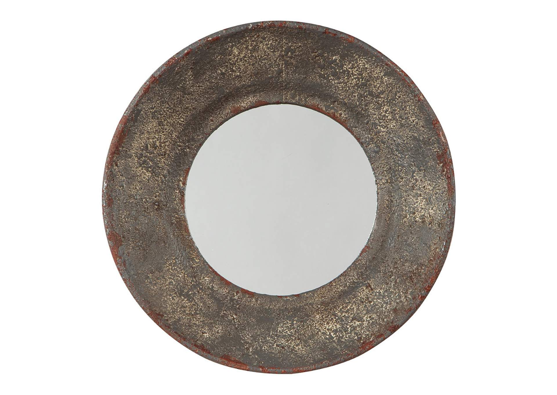 Carine Gray Accent Mirror,Signature Design By Ashley