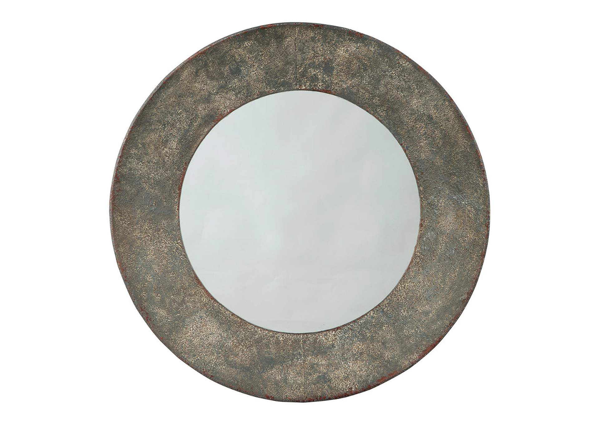 Carine Gray Accent Mirror,Direct To Consumer Express