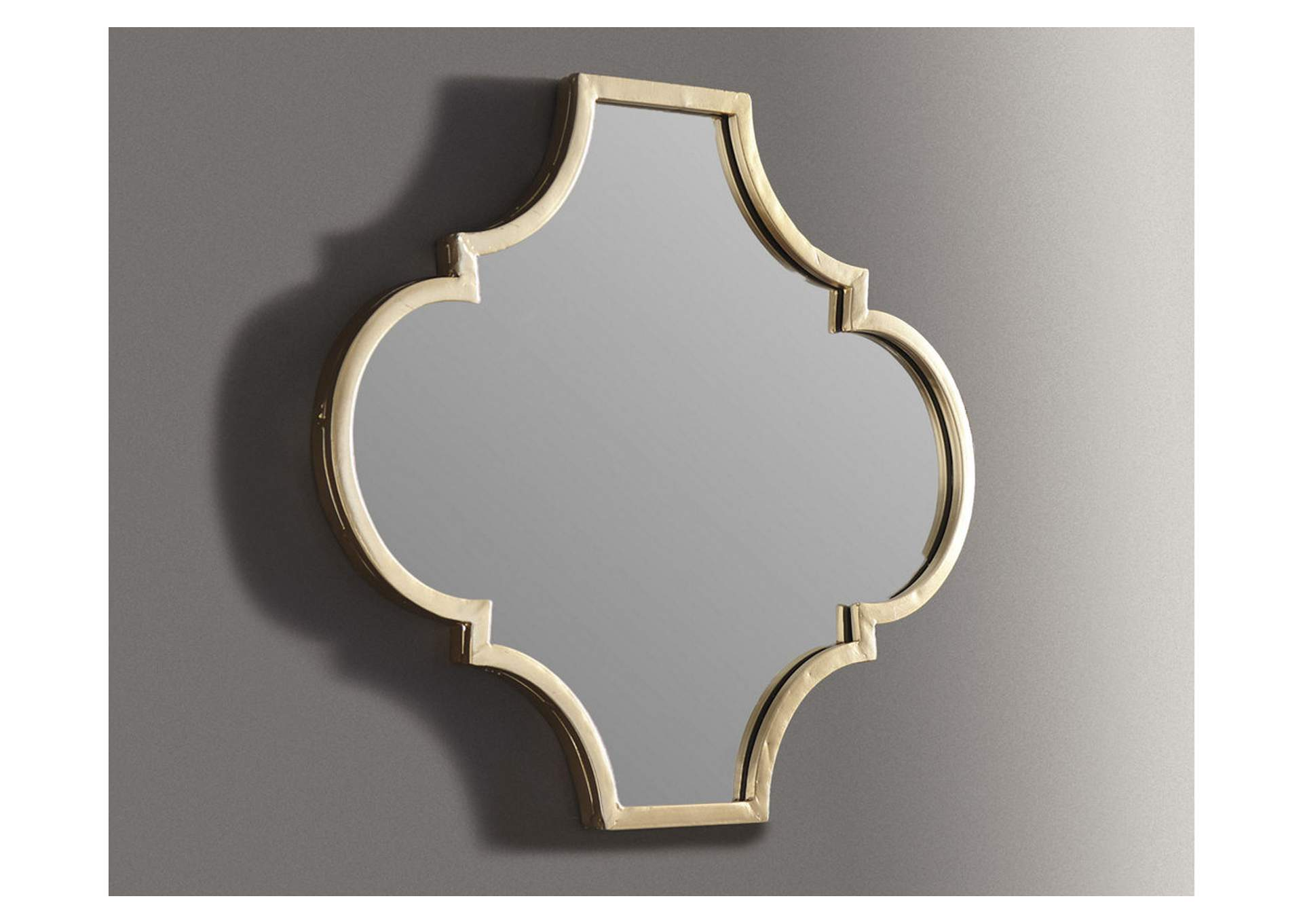 Callie Gold Finish Accent Mirror,Direct To Consumer Express