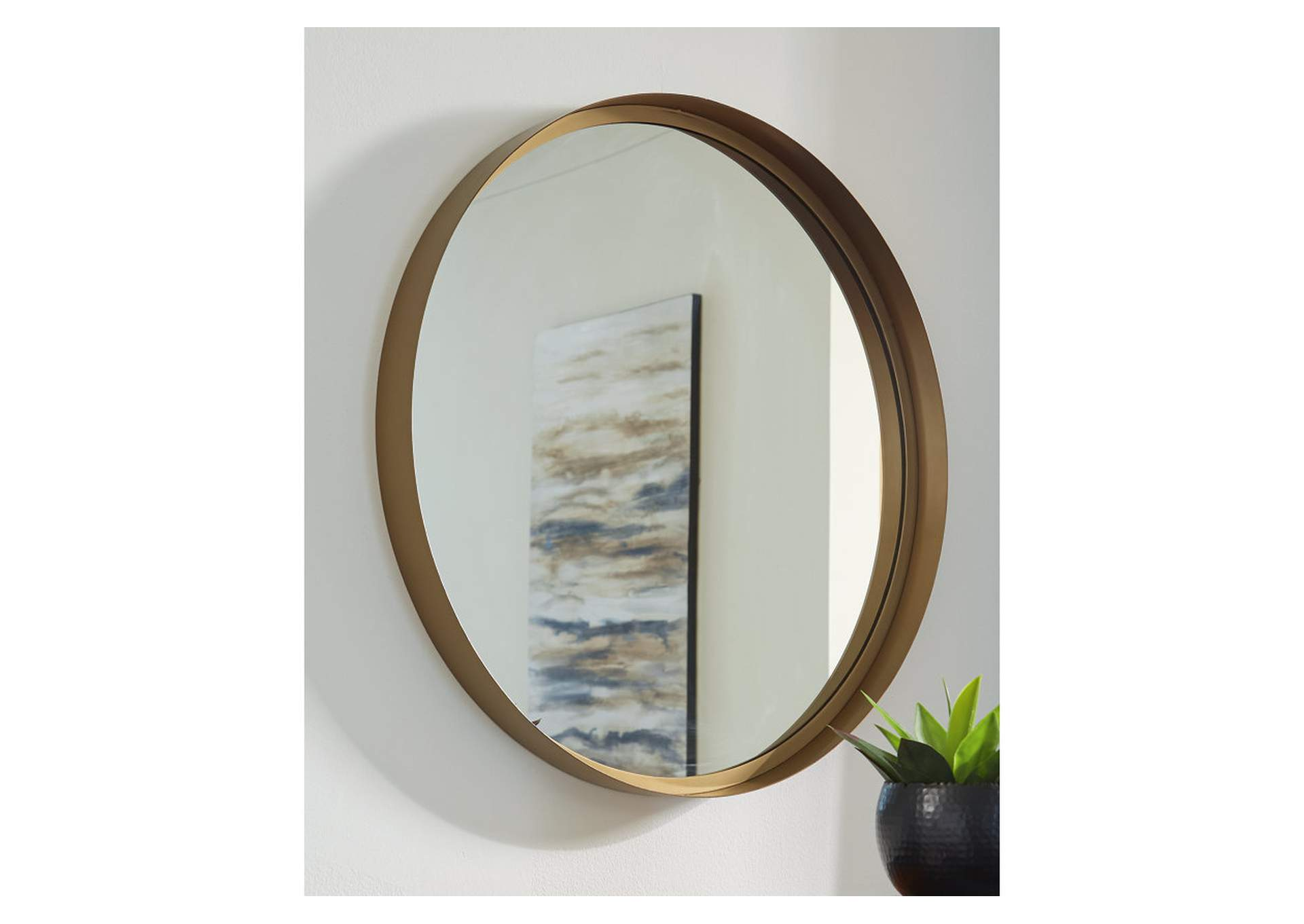 Elanah Accent Mirror,Signature Design By Ashley