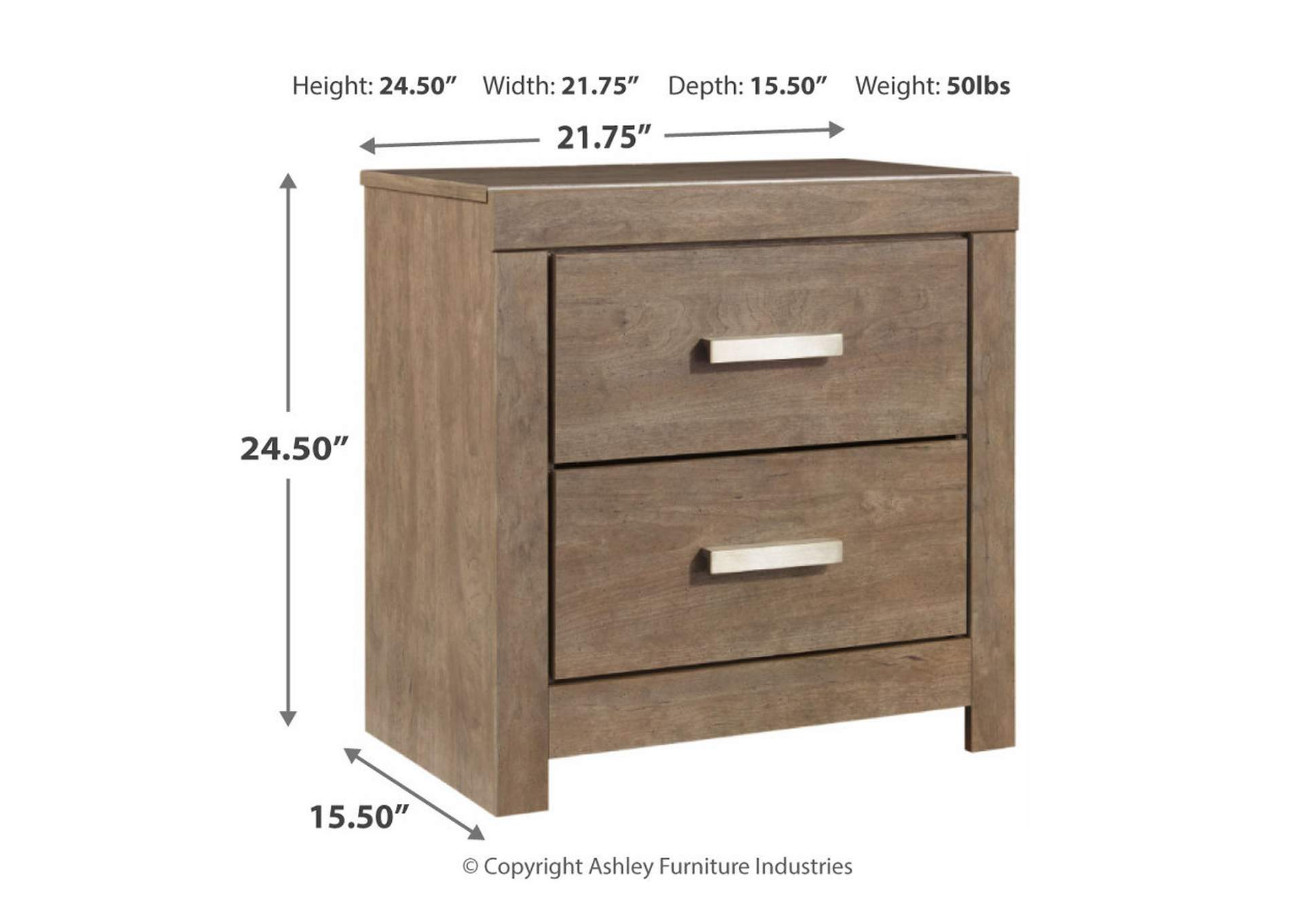 Culverbach Nightstand,Signature Design By Ashley