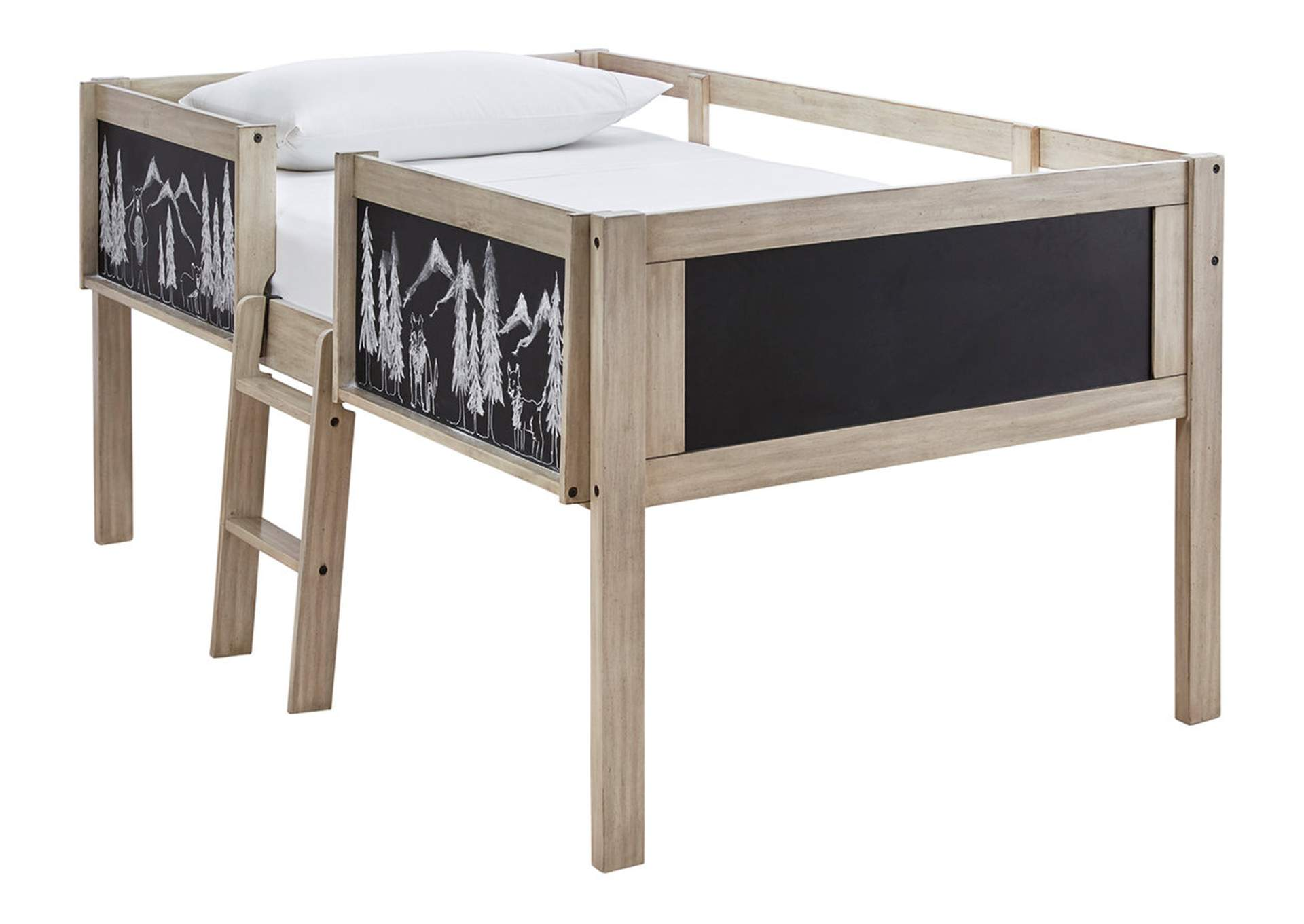 Wrenalyn Twin Loft Bed Frame,Signature Design By Ashley