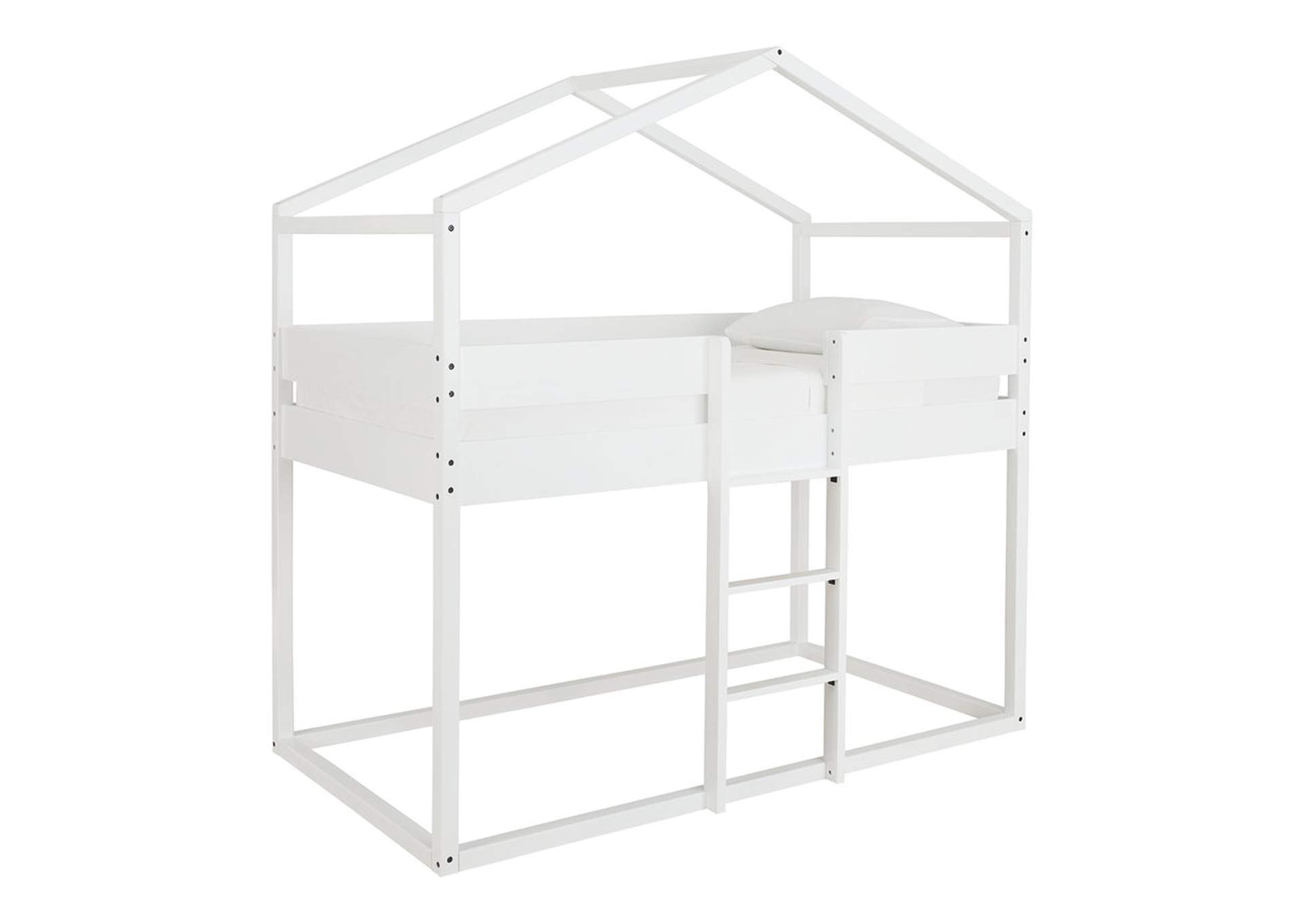 Flannibrook Twin over Twin House Loft Bed,Signature Design By Ashley
