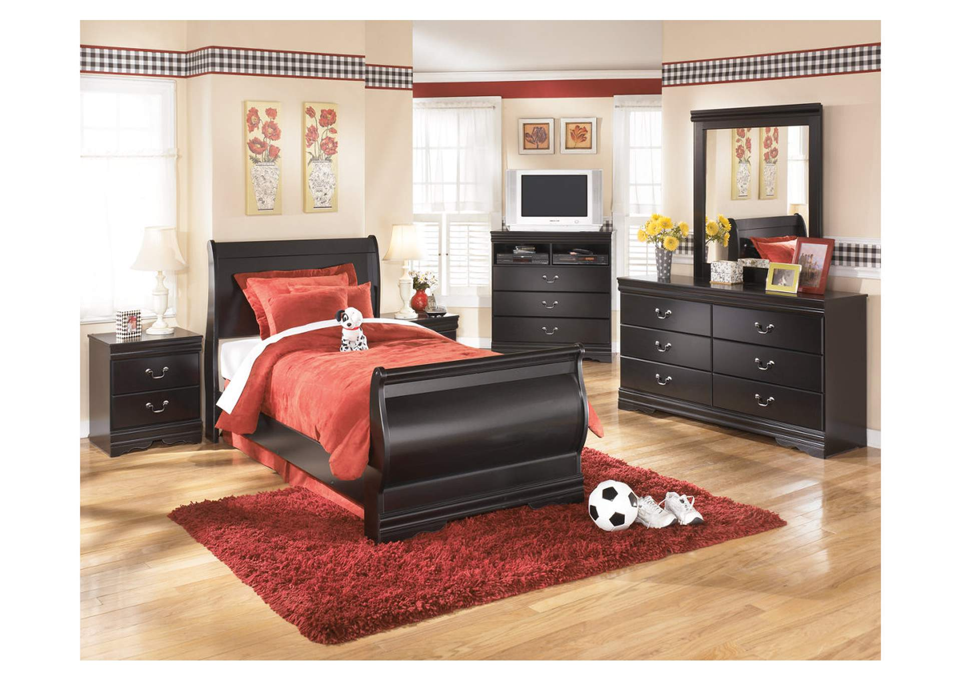Huey Vineyard Full Sleigh Bed,Direct To Consumer Express
