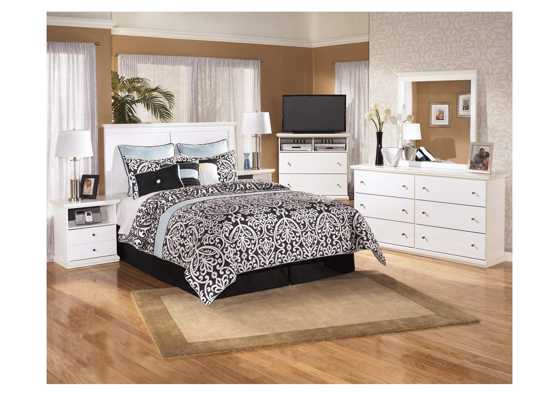 Bostwick Shoals Queen/Full Panel Headboard,Direct To Consumer Express