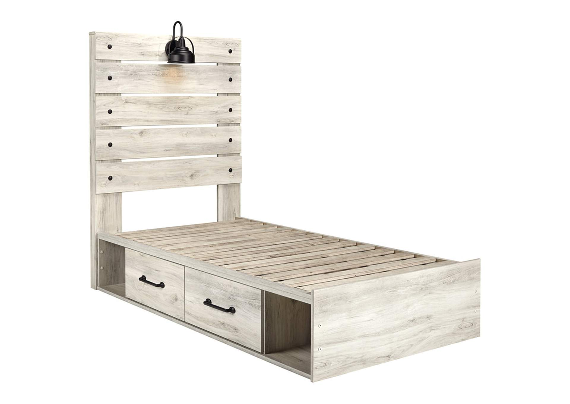 Cambeck Twin Panel Bed with 4 Storage Drawers,Signature Design By Ashley