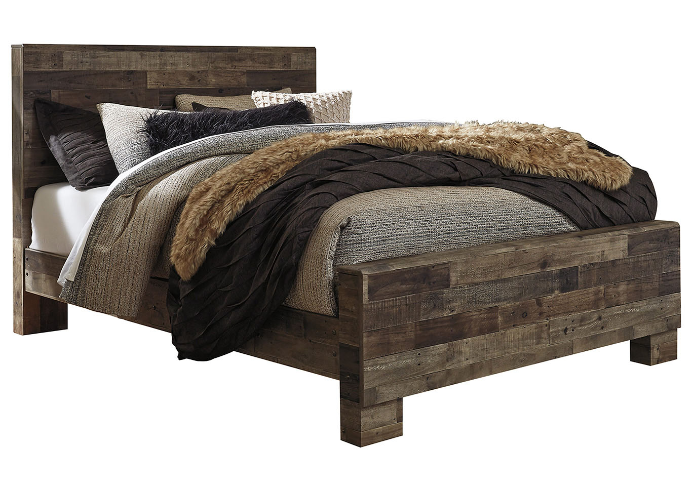 Derekson Queen Panel Bed,Benchcraft