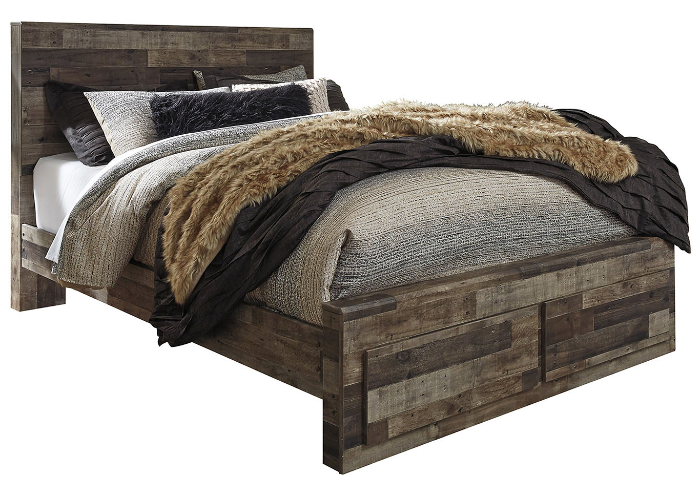 Derekson Queen Platform Bed,Benchcraft