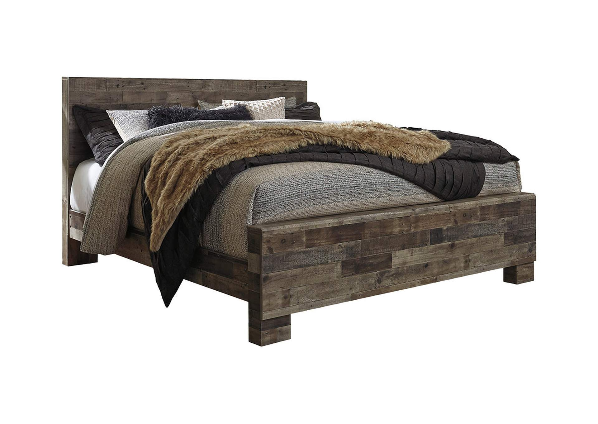 Derekson King Panel Bed,Benchcraft