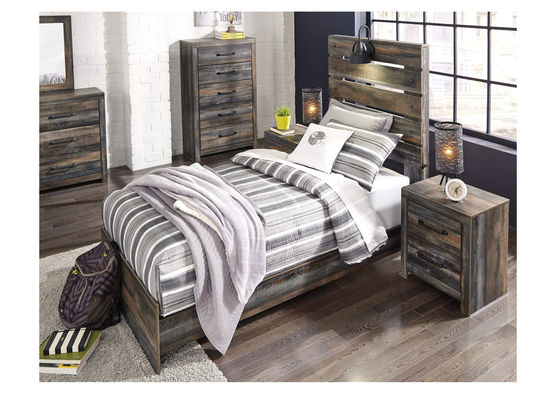 Drystan Twin Panel Bed,Signature Design By Ashley