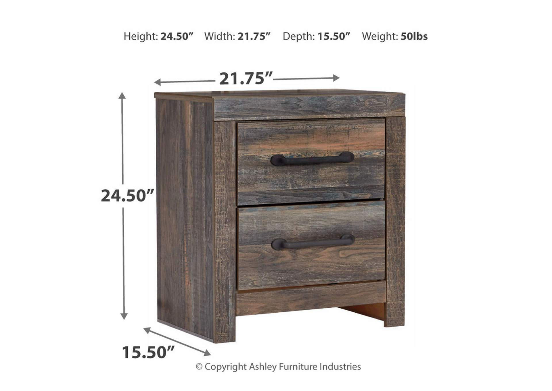 Drystan Nightstand,Signature Design By Ashley
