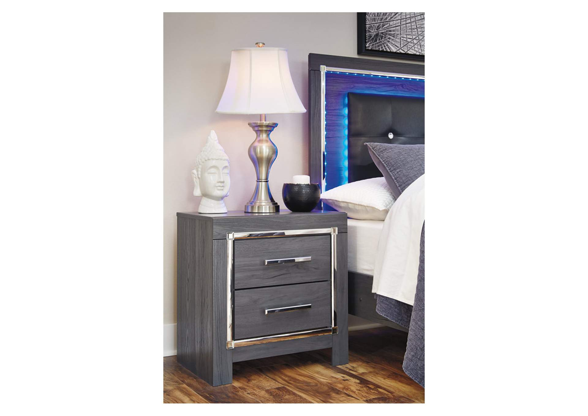 Lodanna Gray Nightstand,Signature Design By Ashley