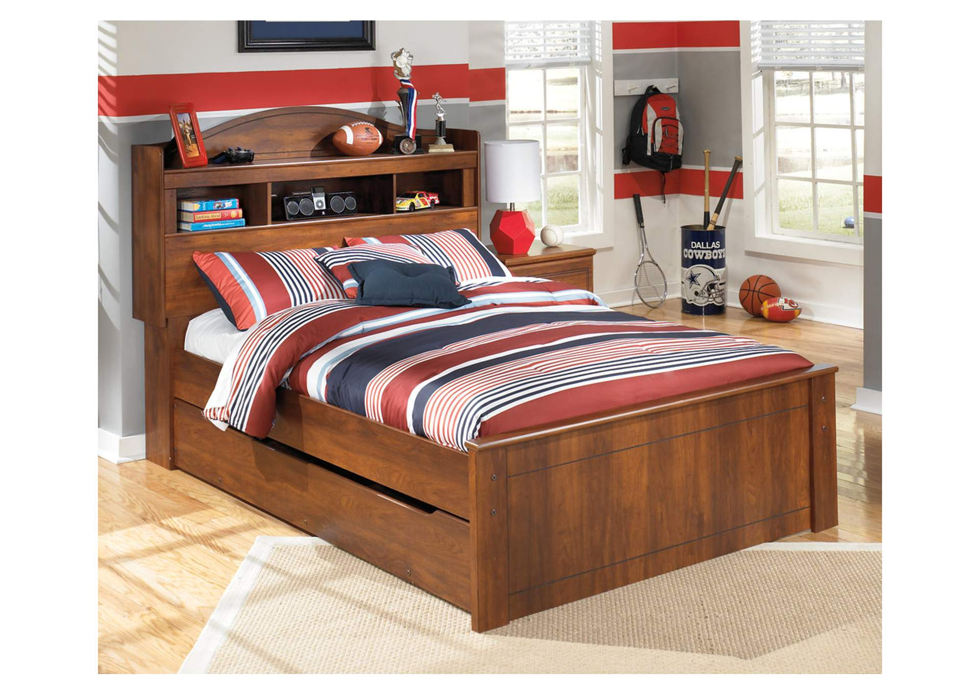 Barchan Full Bookcase Bed w/ Trundle,Signature Design By Ashley