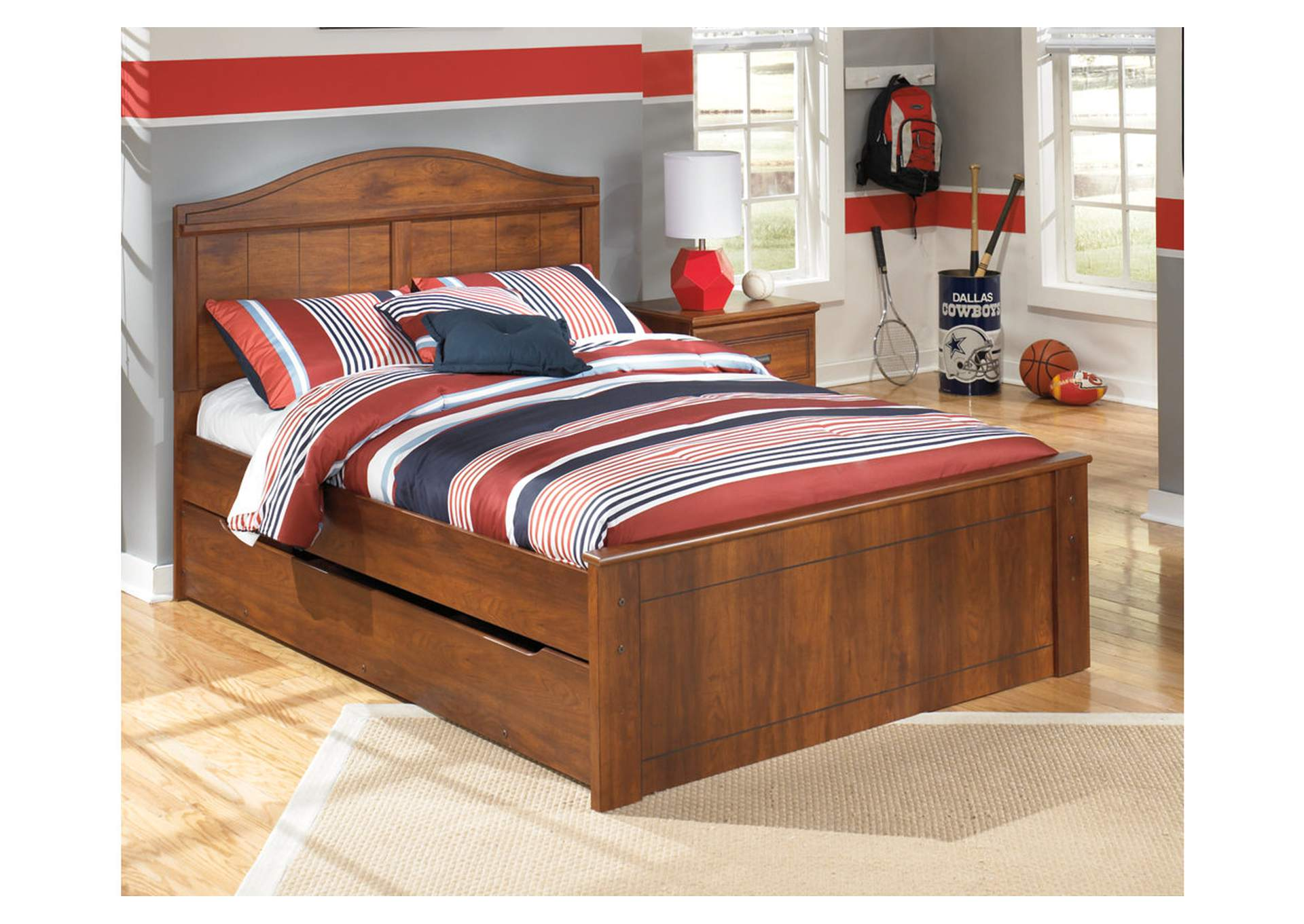 Barchan Full Panel Bed w/ Trundle,Signature Design By Ashley