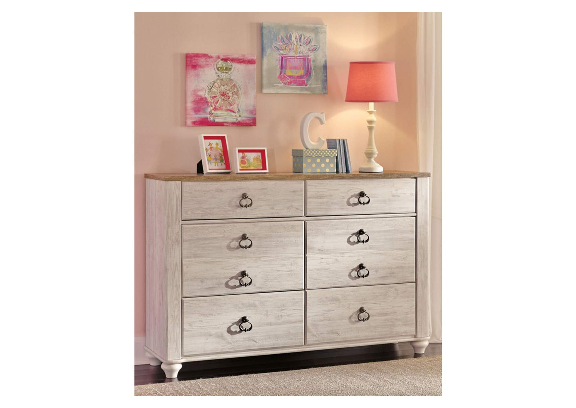 Willowton Dresser,Signature Design By Ashley