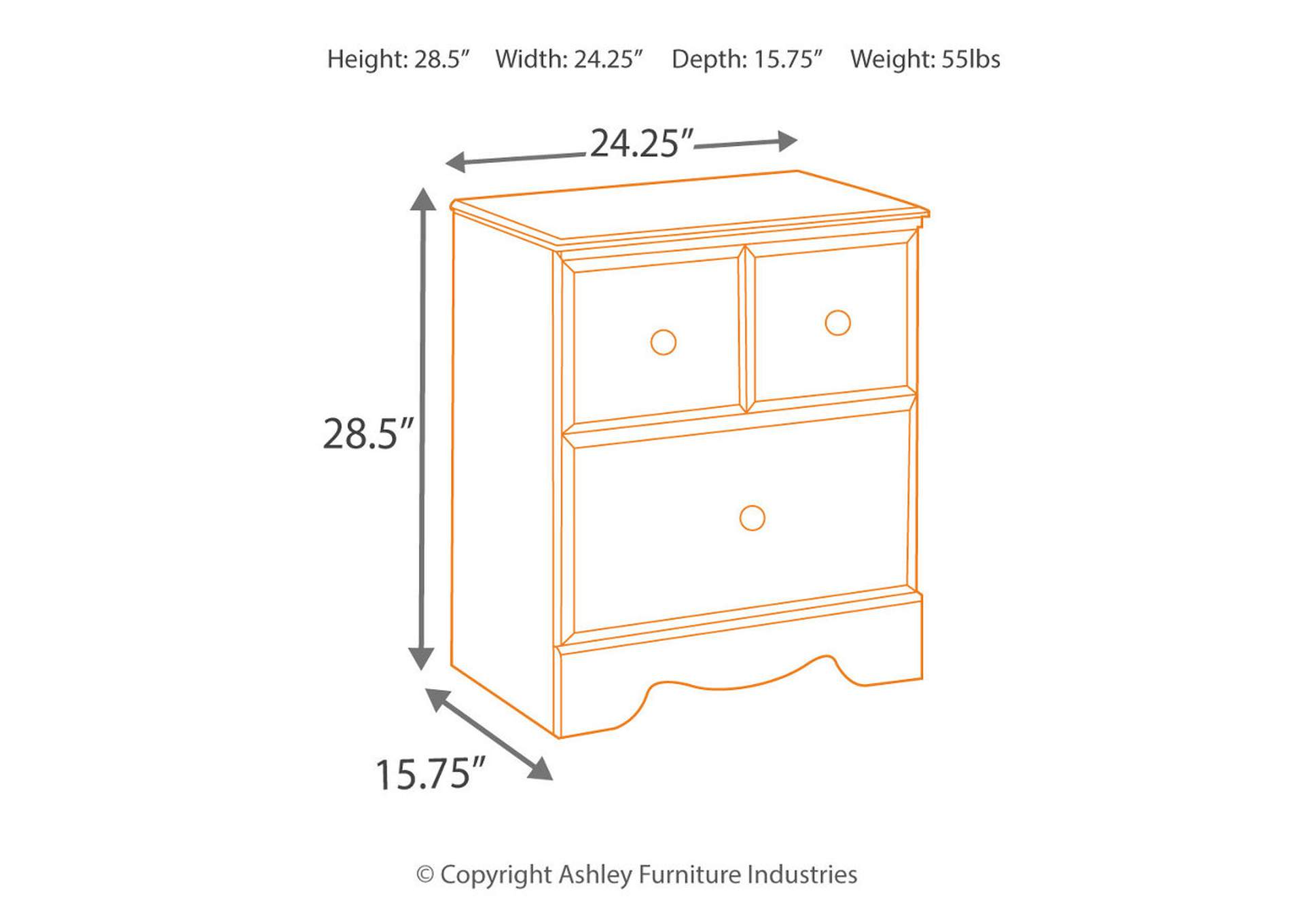 Shay Nightstand,Signature Design By Ashley