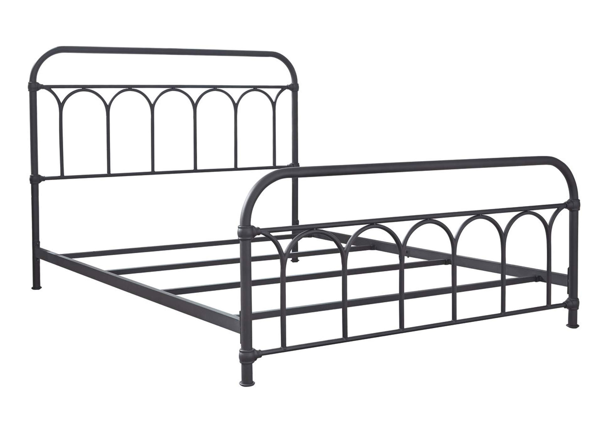 Nashburg Queen Metal Bed,Signature Design By Ashley