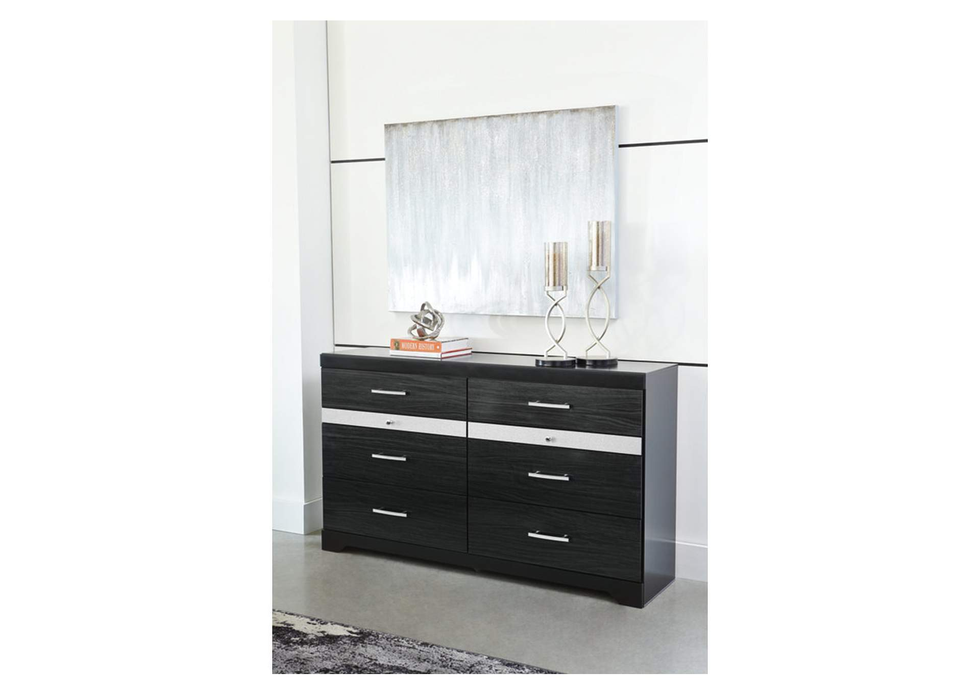 Starberry Black Dresser,Signature Design By Ashley