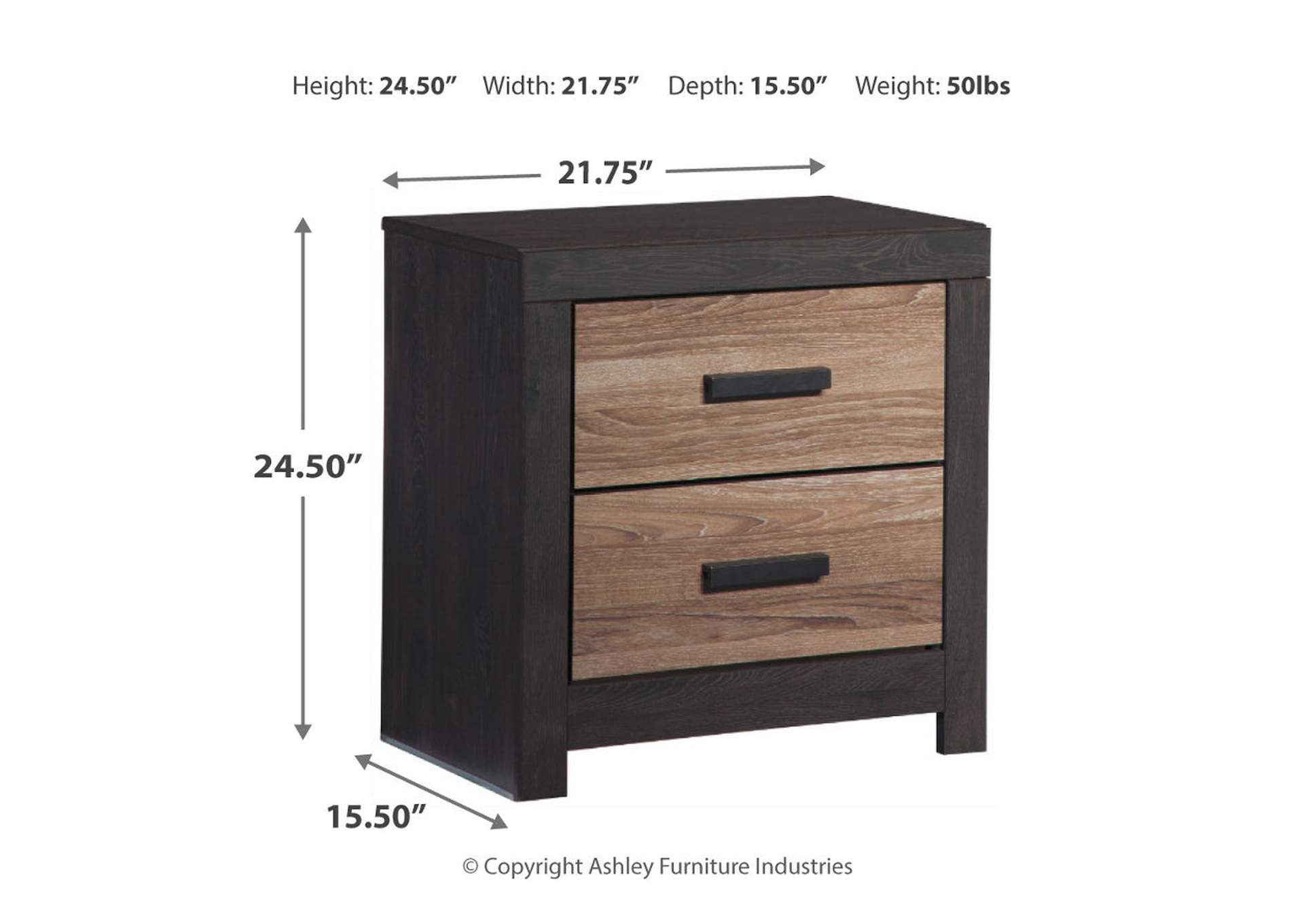 Harlinton Nightstand,Direct To Consumer Express