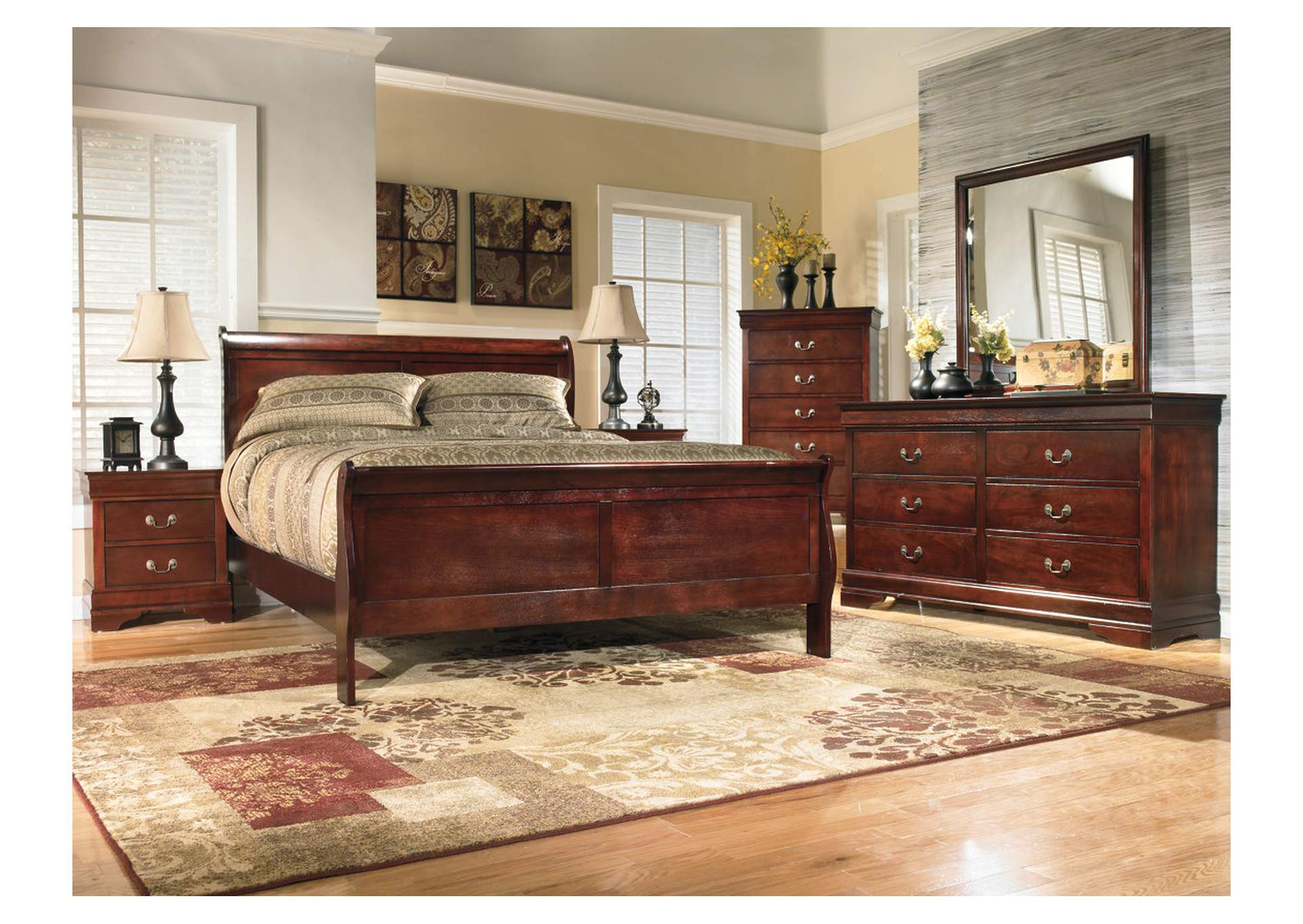 Alisdair King Sleigh Bed,Signature Design By Ashley
