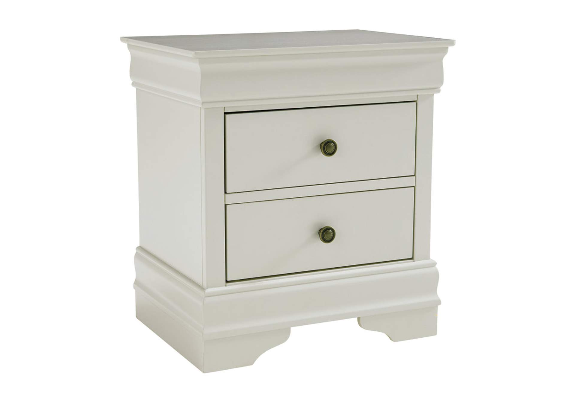 Jorstad Gray Two Drawers Nightstand,Signature Design By Ashley