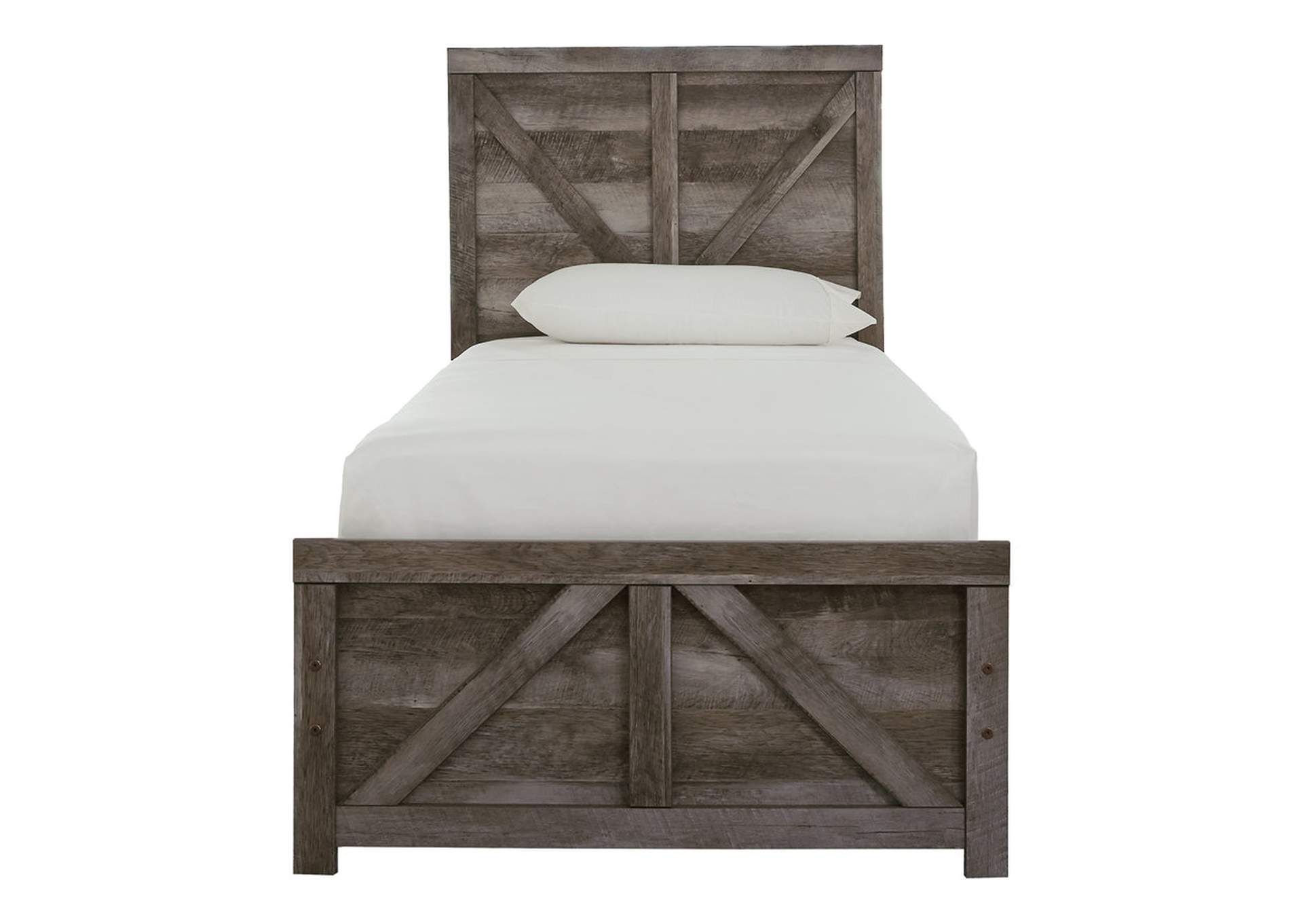 Wynnlow Twin Crossbuck Panel Bed,Signature Design By Ashley