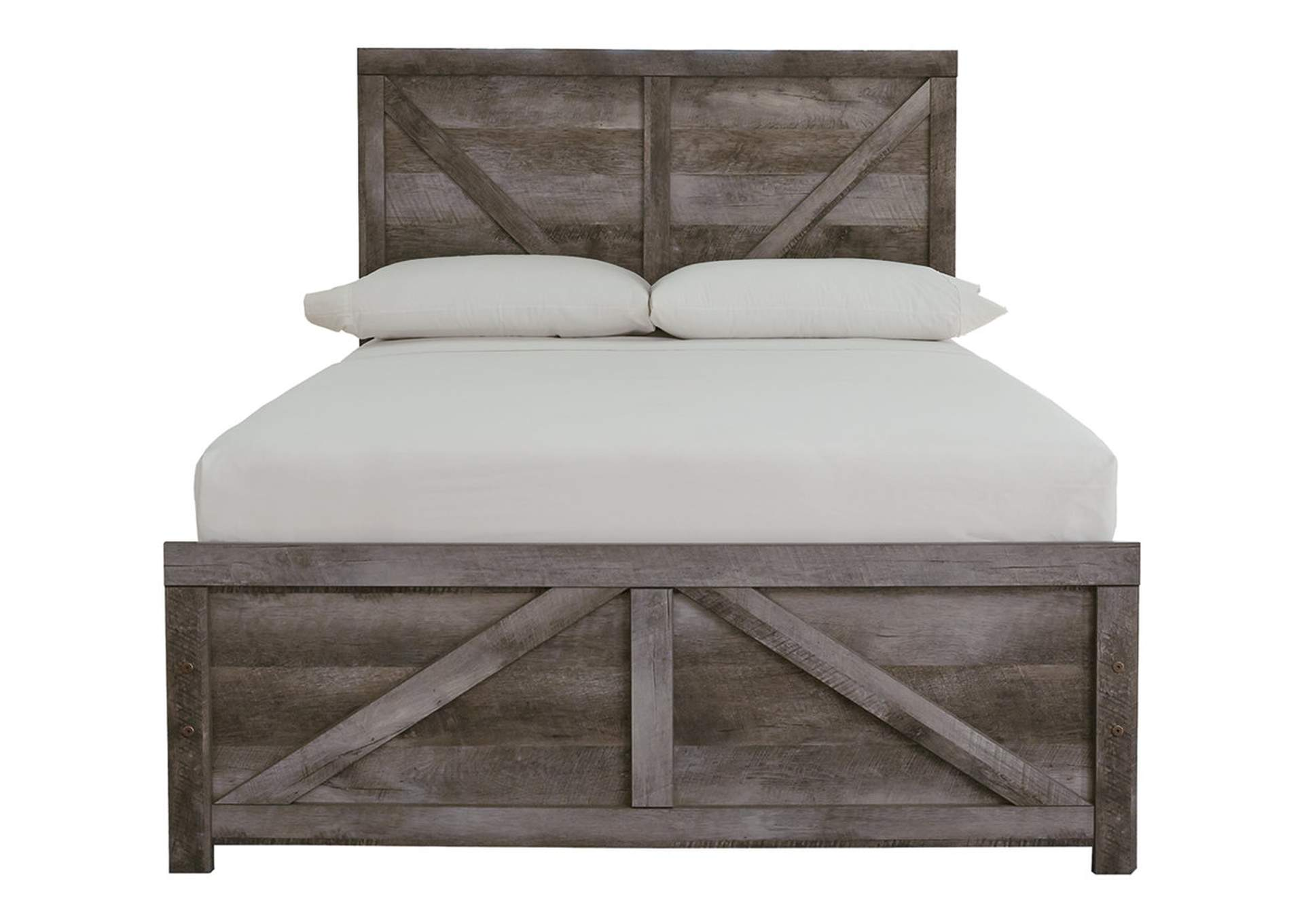 Wynnlow Full Crossbuck Panel Bed,Signature Design By Ashley