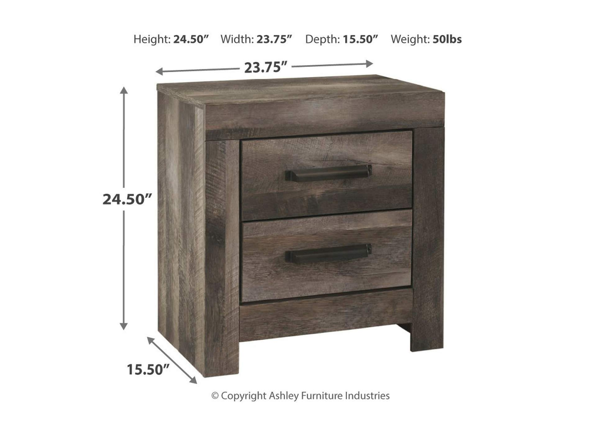 Wynnlow Nightstand,Direct To Consumer Express