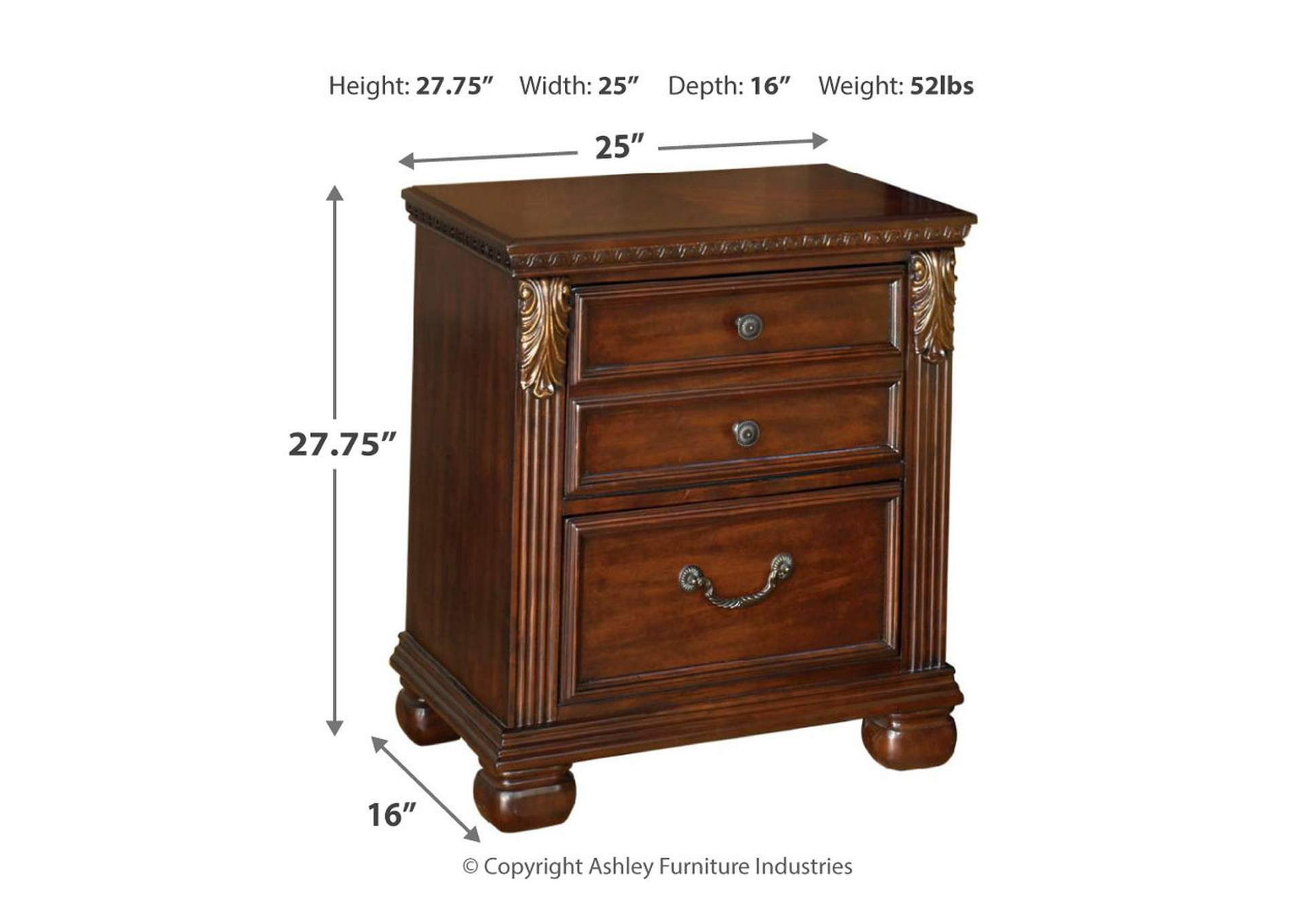 Leahlyn Nightstand,Direct To Consumer Express