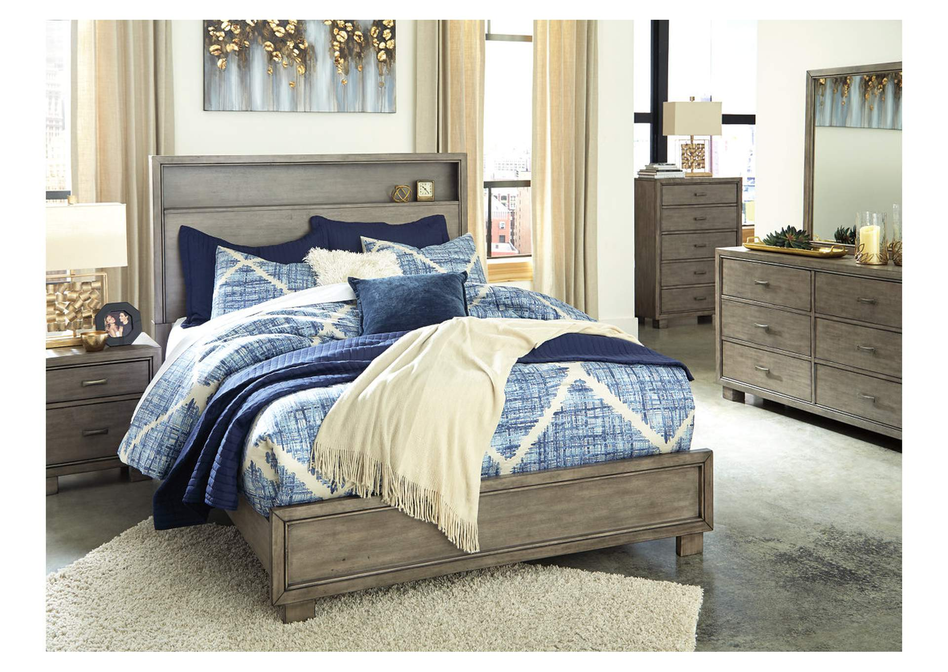 Arnett Queen Bookcase Bed,Signature Design By Ashley