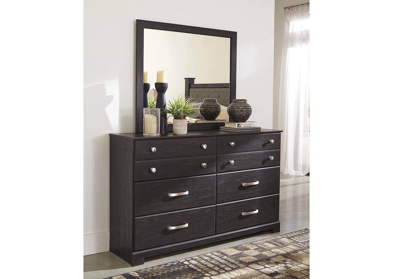 Reylow 6 Drawer Dresser and Mirror,Signature Design By Ashley