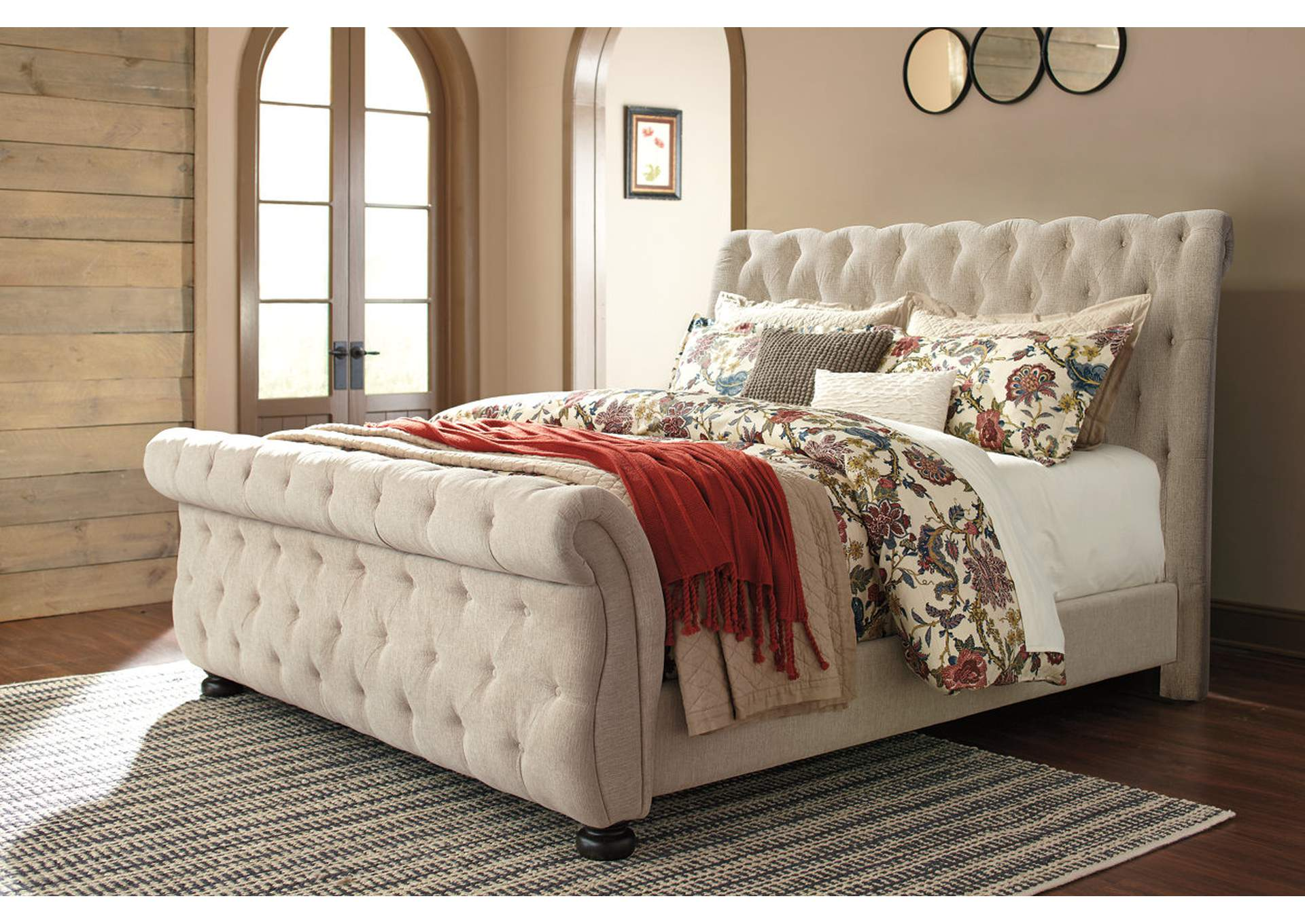 Willenburg California King Upholstered Bed,Signature Design By Ashley