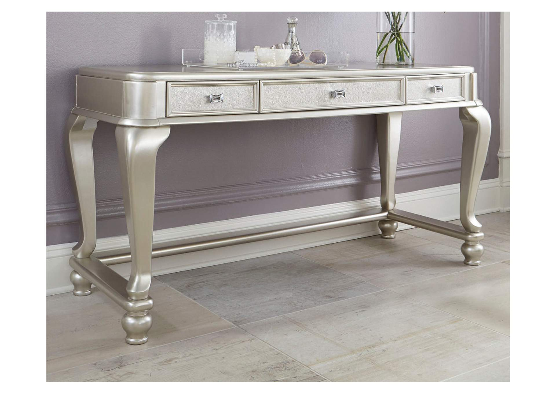 Coralayne Silver Vanity,Direct To Consumer Express