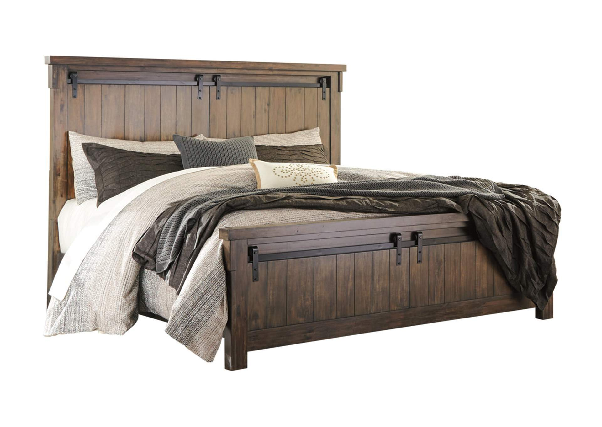 Lakeleigh Brown California King Panel Bed,Signature Design By Ashley