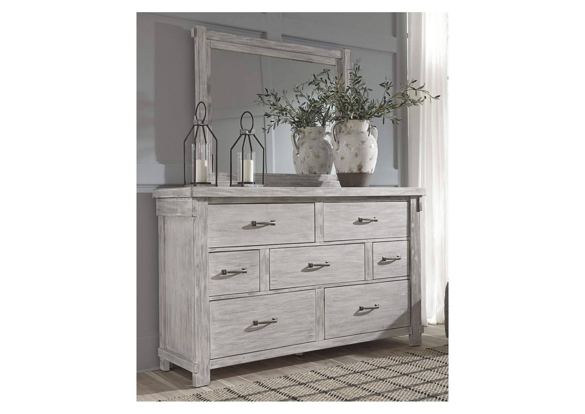 Brashland Dresser and Mirror,Signature Design By Ashley