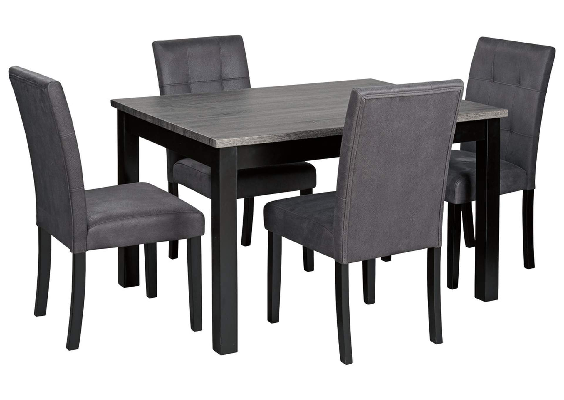 Garvine Two-tone Dining Room Table and Chairs (Set of 5),Signature Design By Ashley