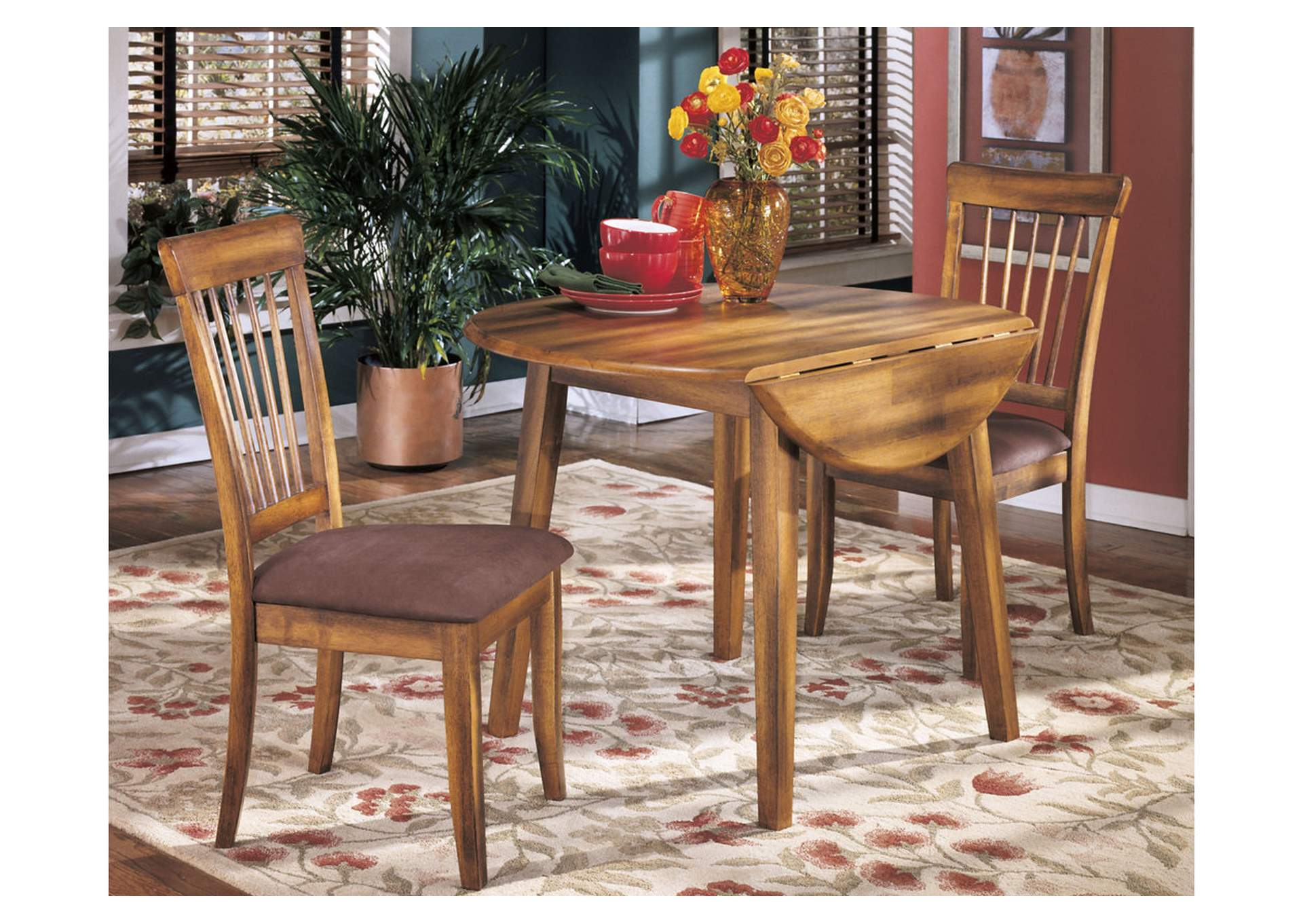Berringer Round Drop Leaf Table,Direct To Consumer Express