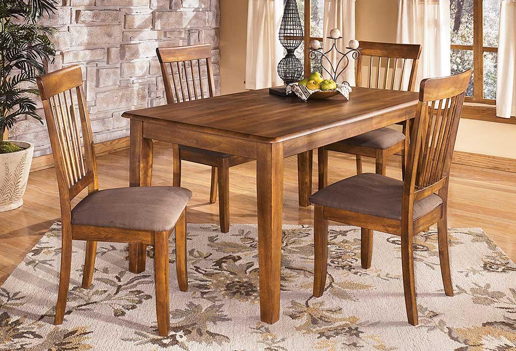 Berringer Rectangular Dining Room Table, Star Furniture Dining Table