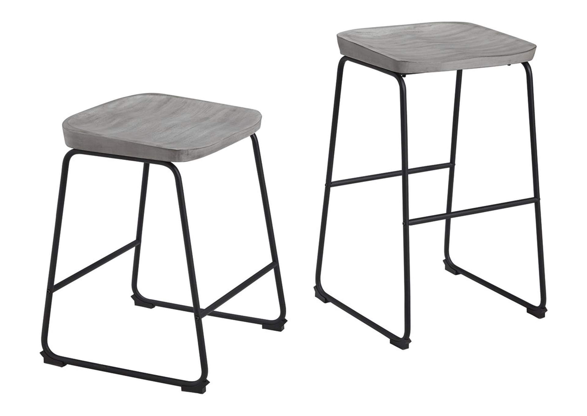 Showdell Pub Height Bar Stool (Set of 2),Signature Design By Ashley