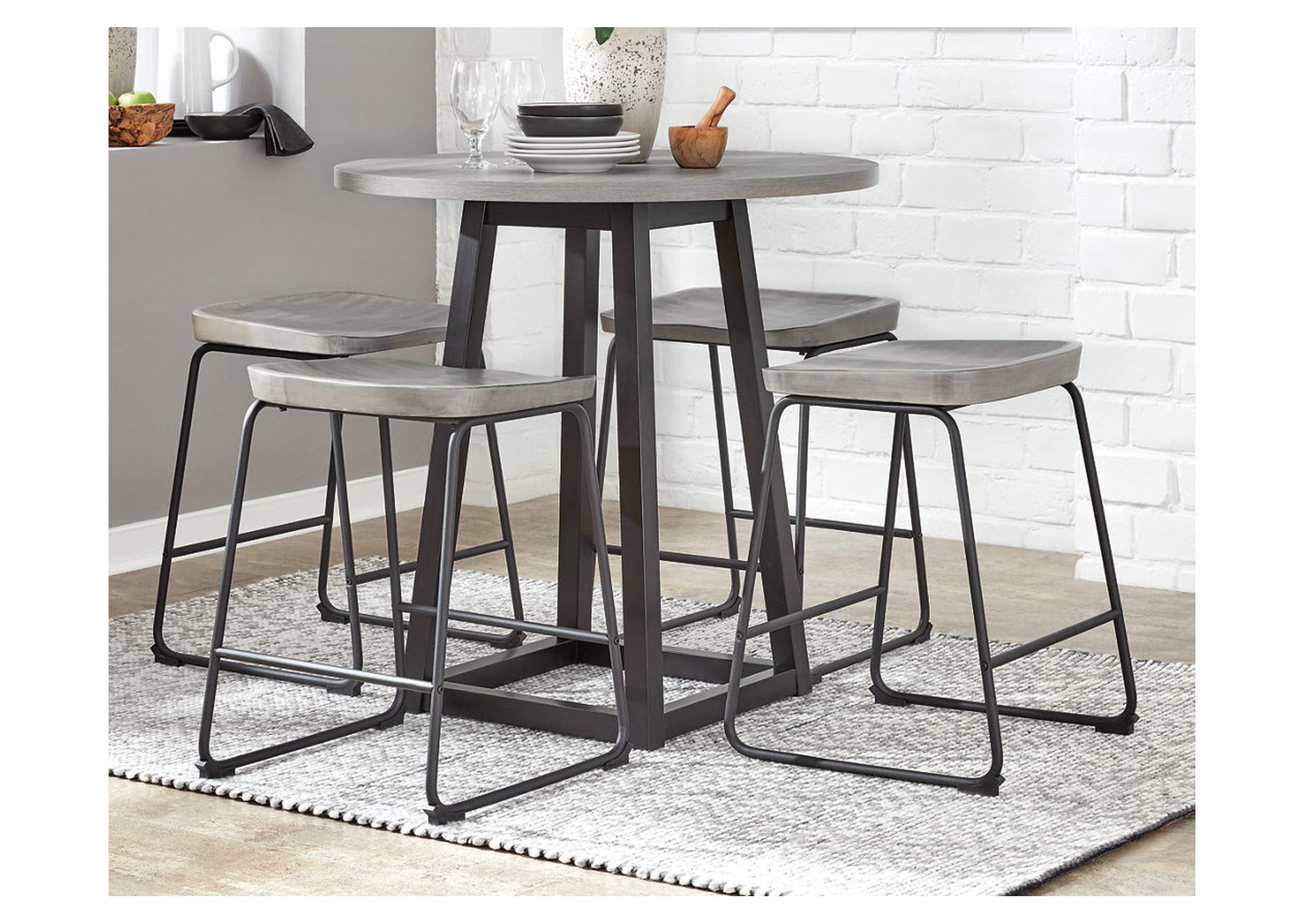 Showdell Counter Height Dining Room Table,Signature Design By Ashley
