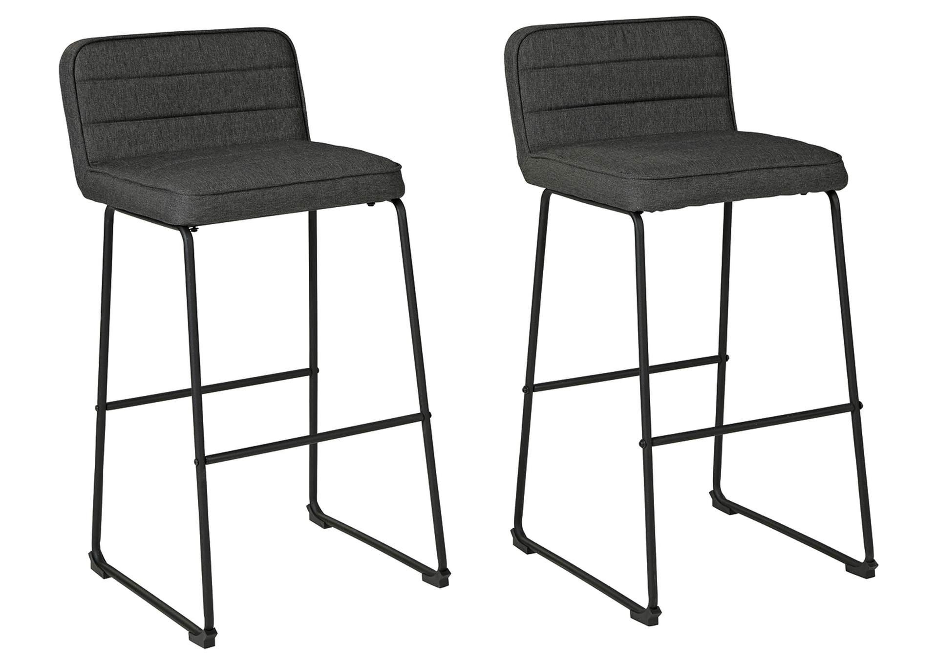 Nerison Bar Height Bar Stool (Set of 2),Signature Design By Ashley